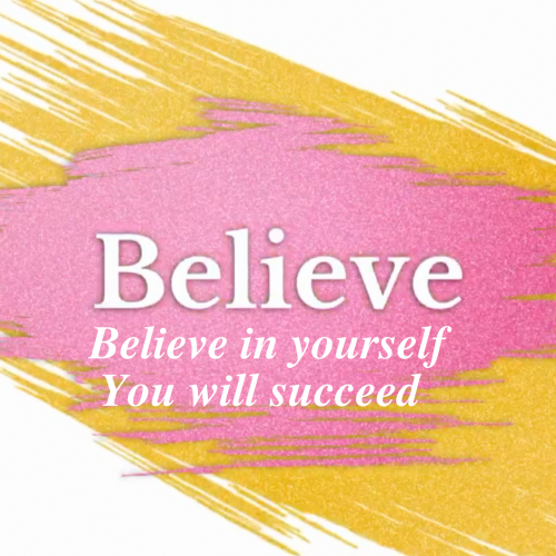 Believe - Dream With Intent Coaching