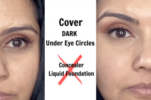 Super Easy Way to Cover Dark Circles Under Eyes Without Concealer