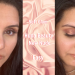 Easy Eyeshadow Tutorial | Huda Beauty New Nude Palette | Soft Glam