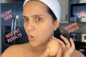 DIY Egg Mask | Egg Facial | Glowy Skin & Shrink Pores with Instant Result