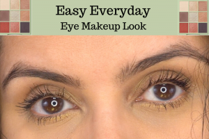 Easy Everyday Eye Makeup Look in your 40s