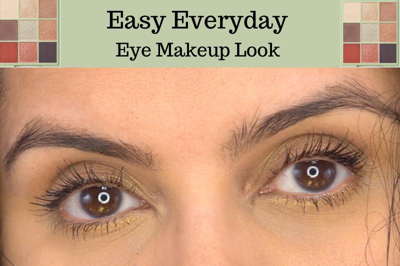 Easy Everyday Eye Makeup Look in your 40s