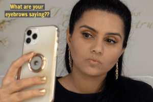 Dream With Intent - Sonali Ankola - Perfect Natural Eyebrows - Post TN