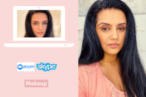 Video Conferencing Natural Polished and Professional Makeup Under 3 Mins - Fast and Easy Makeup Hacks