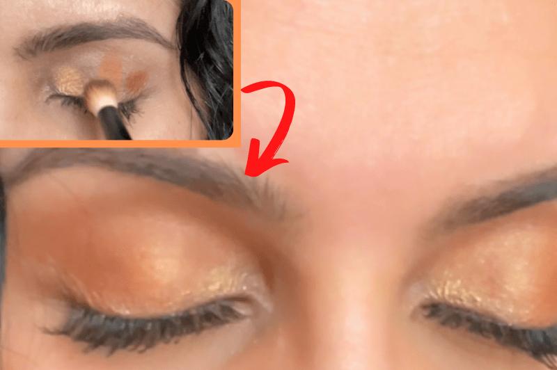 Magical Blending Technique   Save Time Applying Eyeshadow   I Tired Smitha Deepak's Technique
